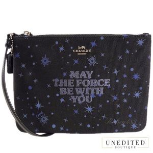 STAR WARS x COACH May The Force Be With Wristlet
